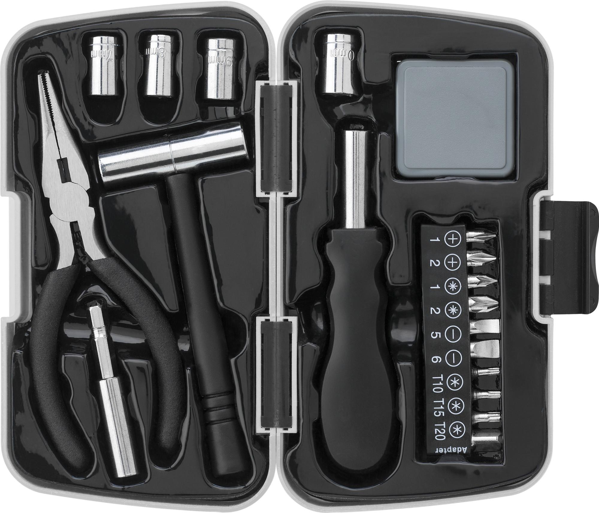 Werkzeug-Set 'Express', 10 tlg. aus Metall