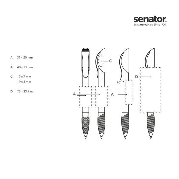 ® Hattrix Clear SG MC Druckkugelschreiber