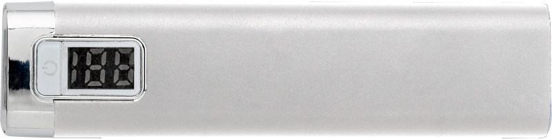 Powerbank 'Qualityline' aus Aluminium