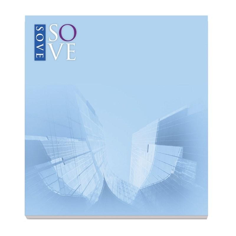 ® 68 mm x 75 mm 25 Blatt Adhesive Notepads Ecolutions®