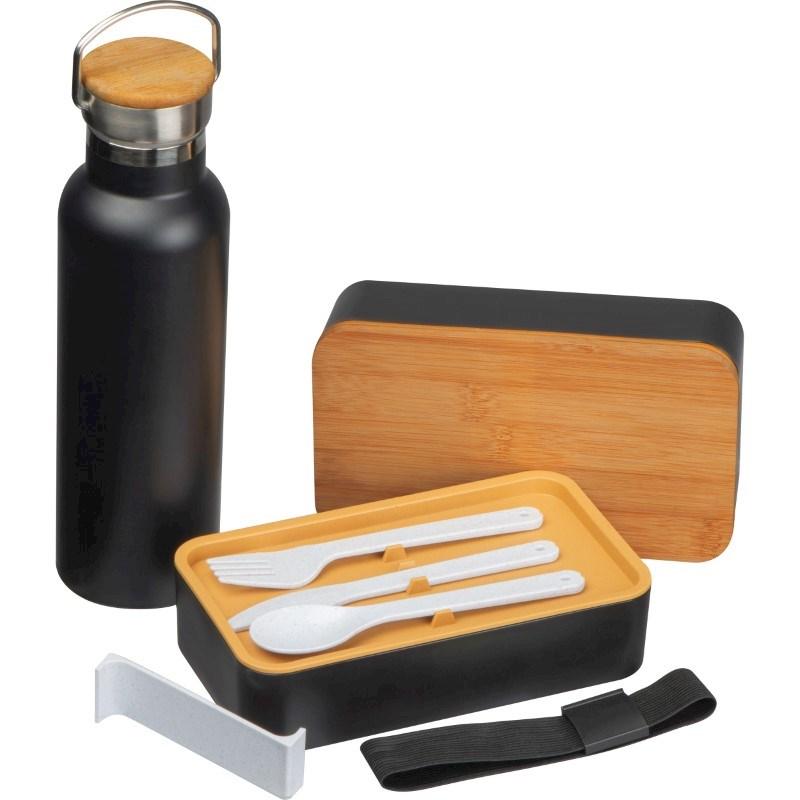 Set aus Lunchbox und Trinkflasche