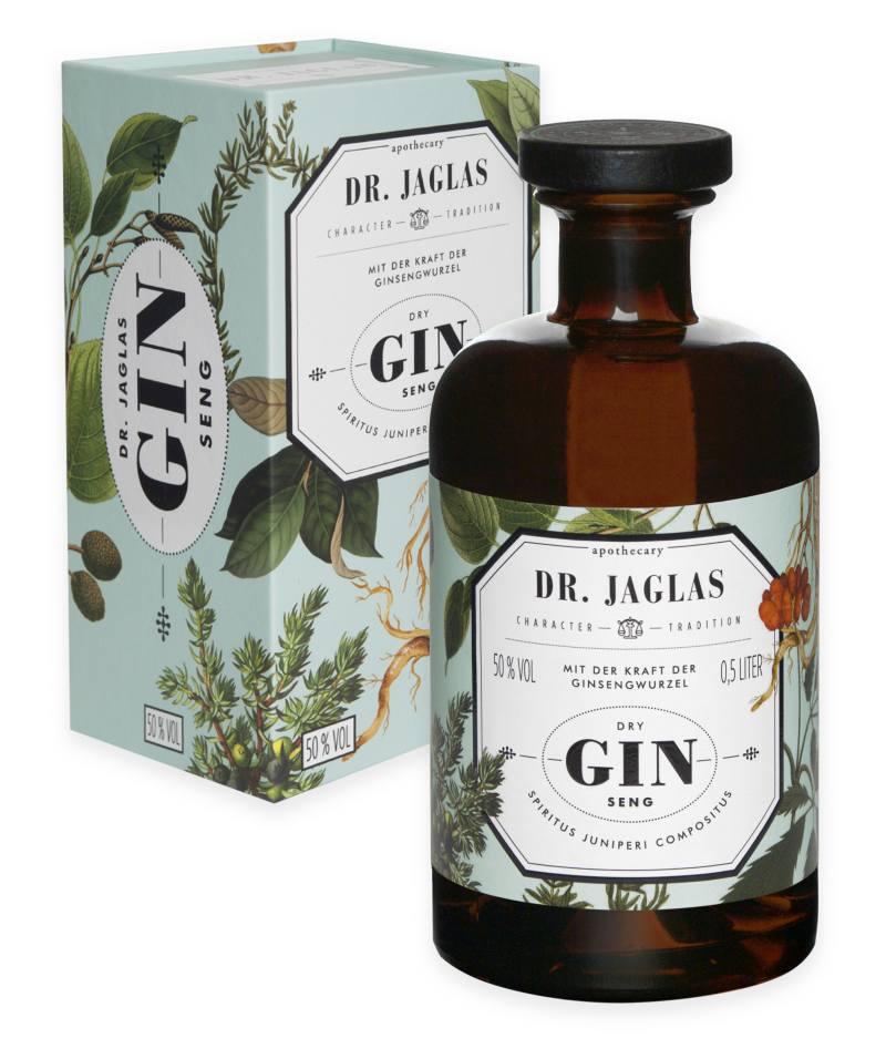 Dr. Jaglas DRY GIN-Seng 500 ml