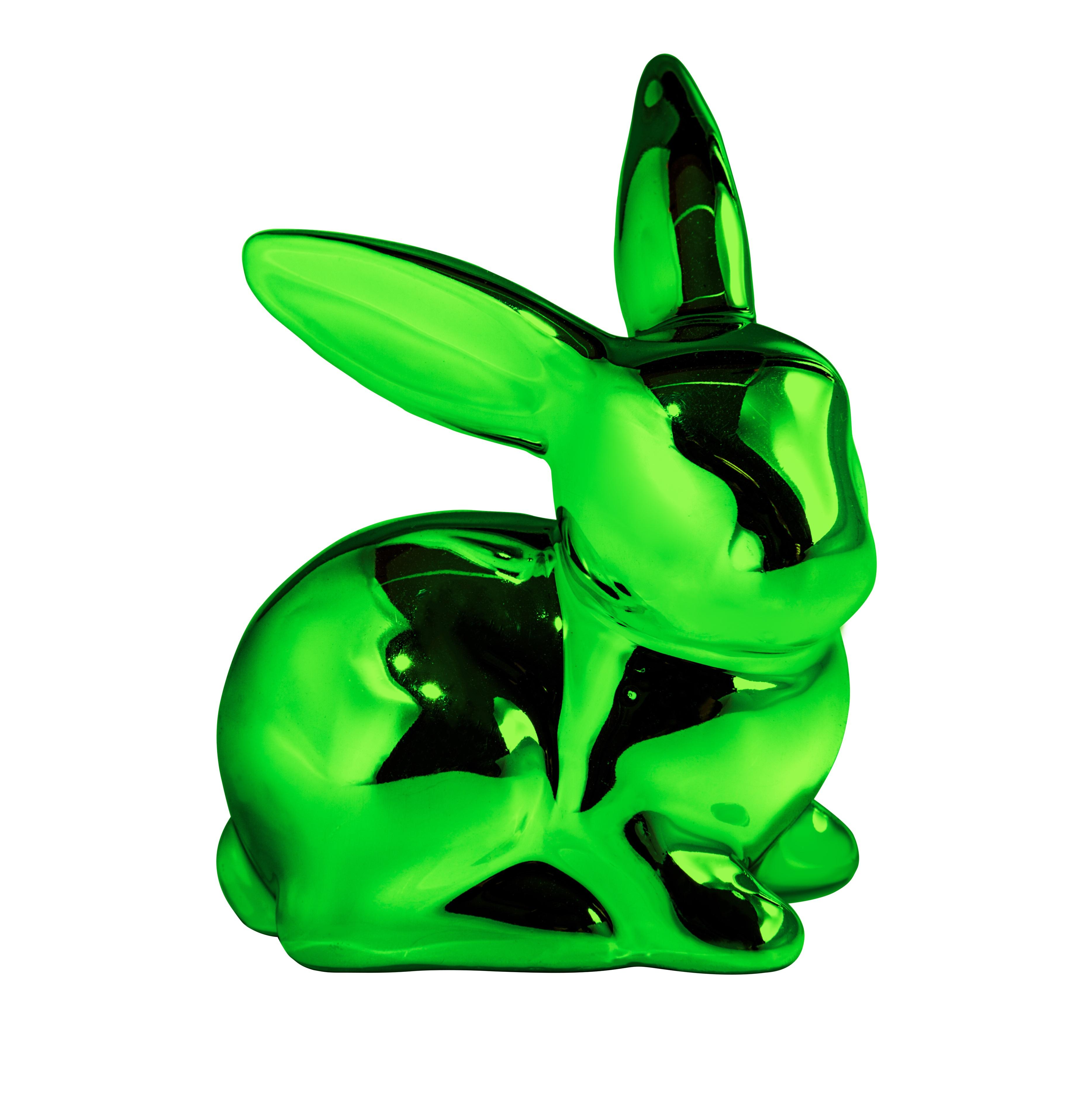 """Hase """"Green"""" aus Keramik"""
