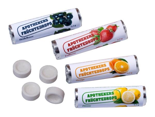 Kleine Früchtedrops 5,2 Gramm