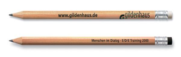 Klassischer Bleistift Staedtler Natur mit Radierer