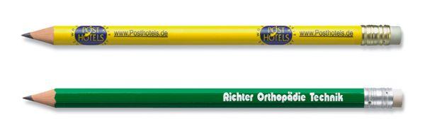 Klassischer Bleistift Staedtler lackiert mit Radierer