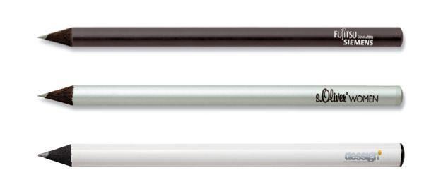 Schwarzer Bleistift Staedtler mit Tauchkappe