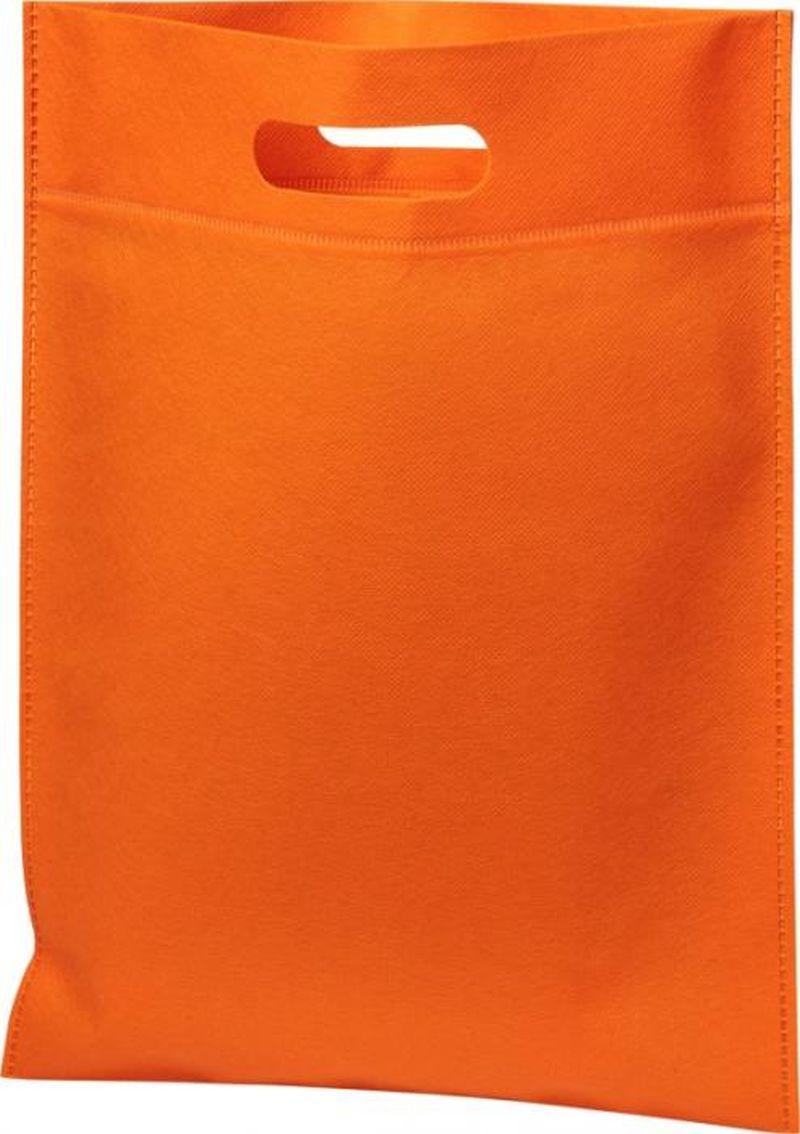 Einfache Einkaufstasche mit Griffloch aus Non-Woven