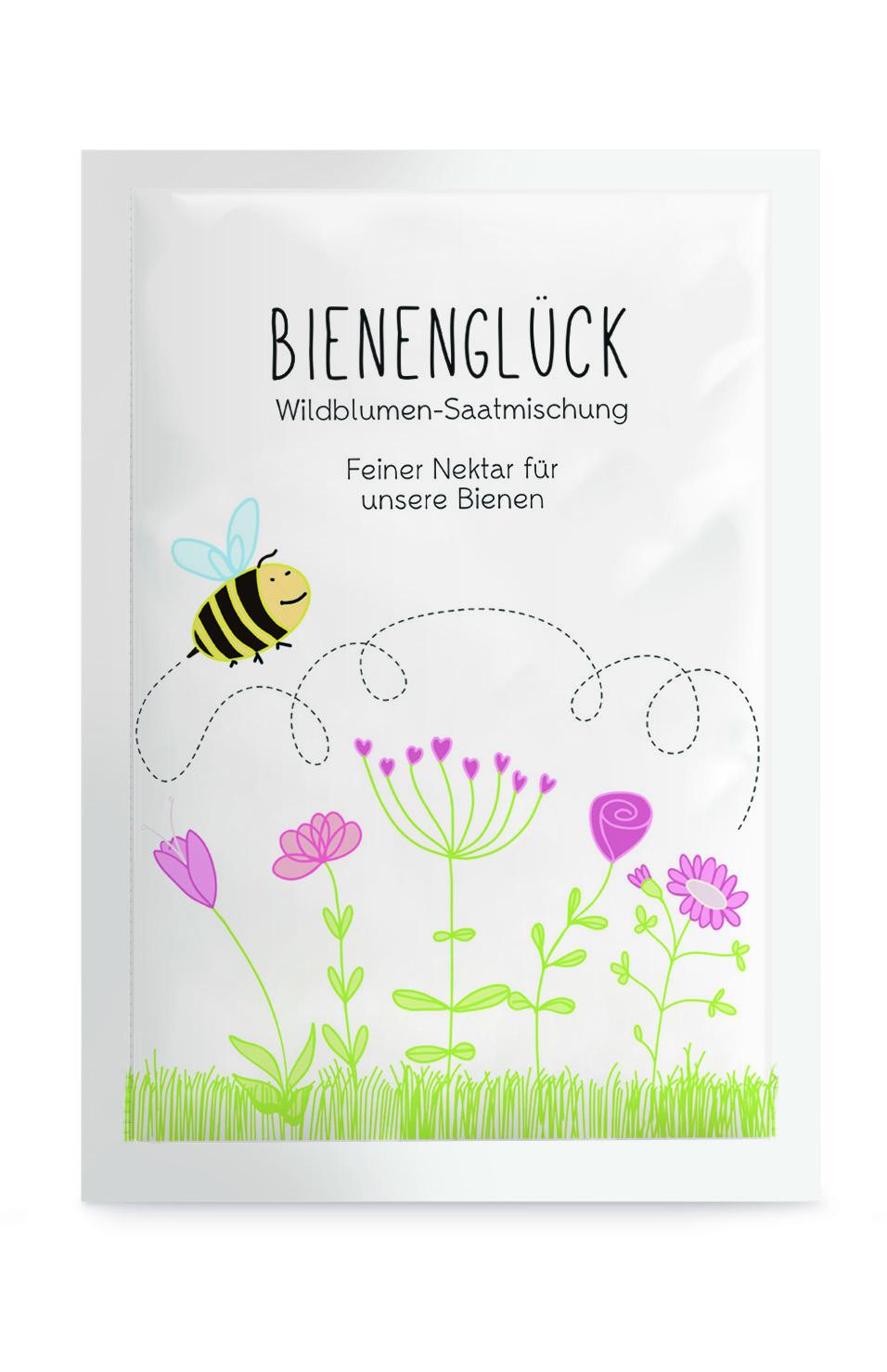 """Samentütchen """"Bienenglück"""""""
