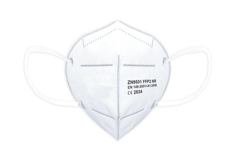 Zertifizierte Gesichtsmaske der Filterklasse FFP2
