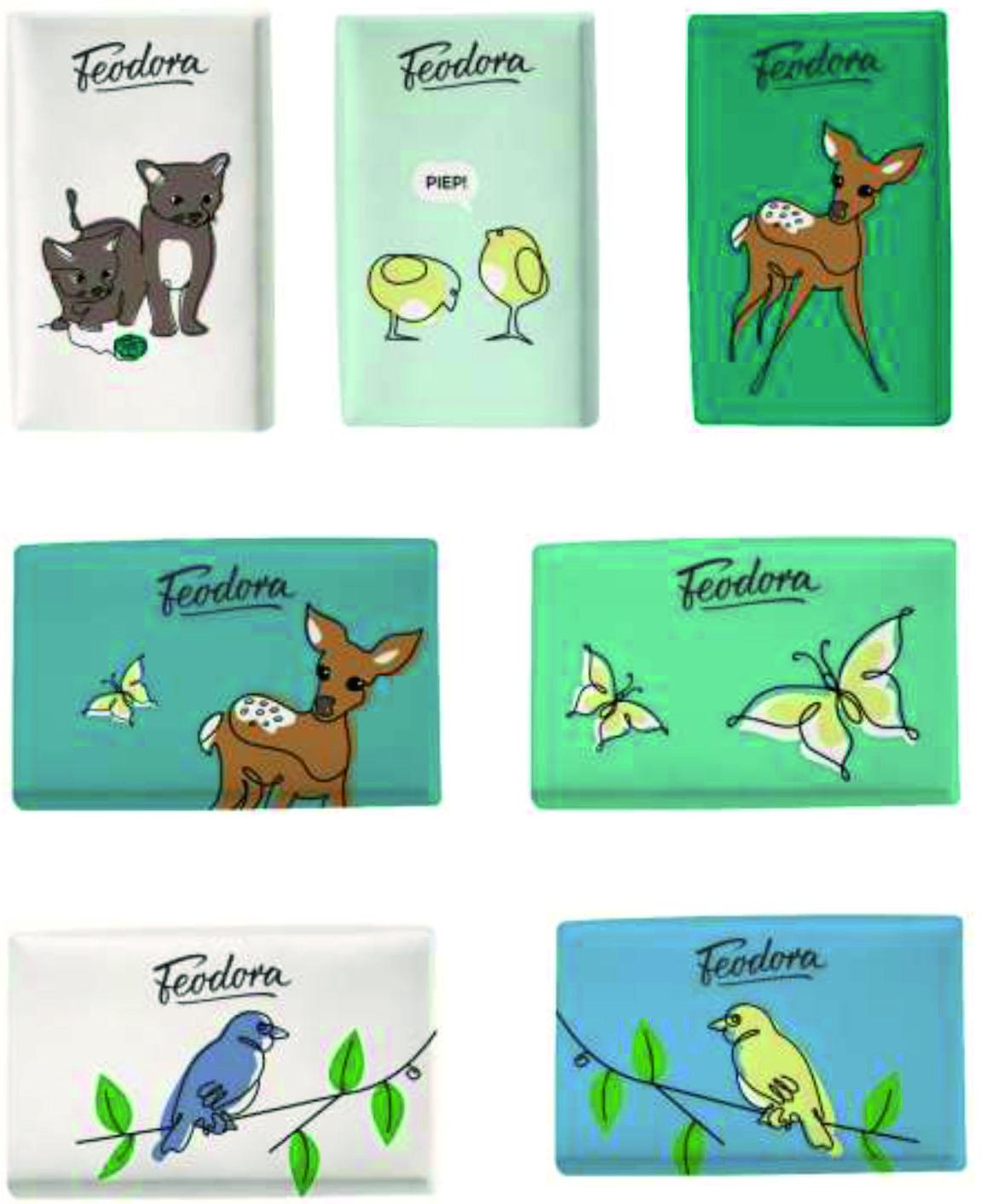 "Schokolade von FEODORA ""Frühlingsmotive"""