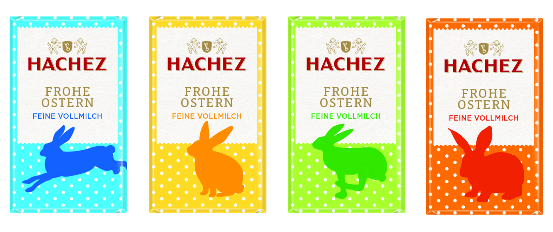 """Schokolade von HACHEZ """"Ostermotive"""""""