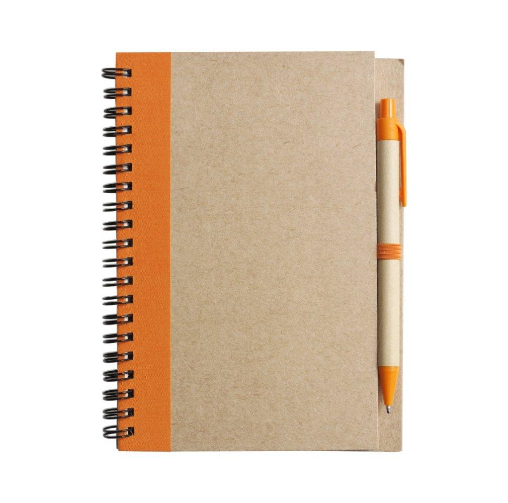 """Notizbuch """"Notes"""" mit Kugelschreiber"""