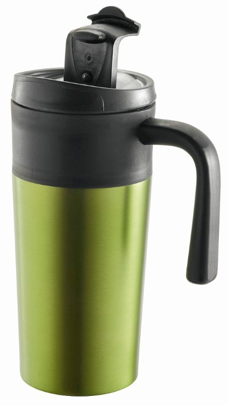 "Metmaxx® Thermobecher ""EnjoyDesignCup"" grün"