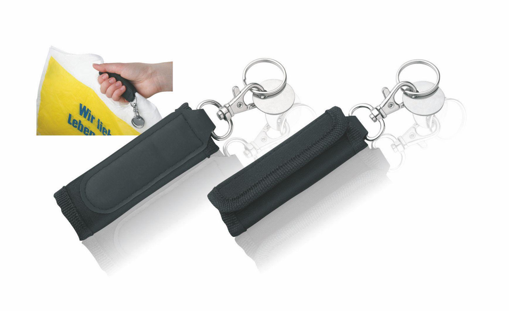 Schlüsselanhänger mit Tragehilfe und EK-wagenchip