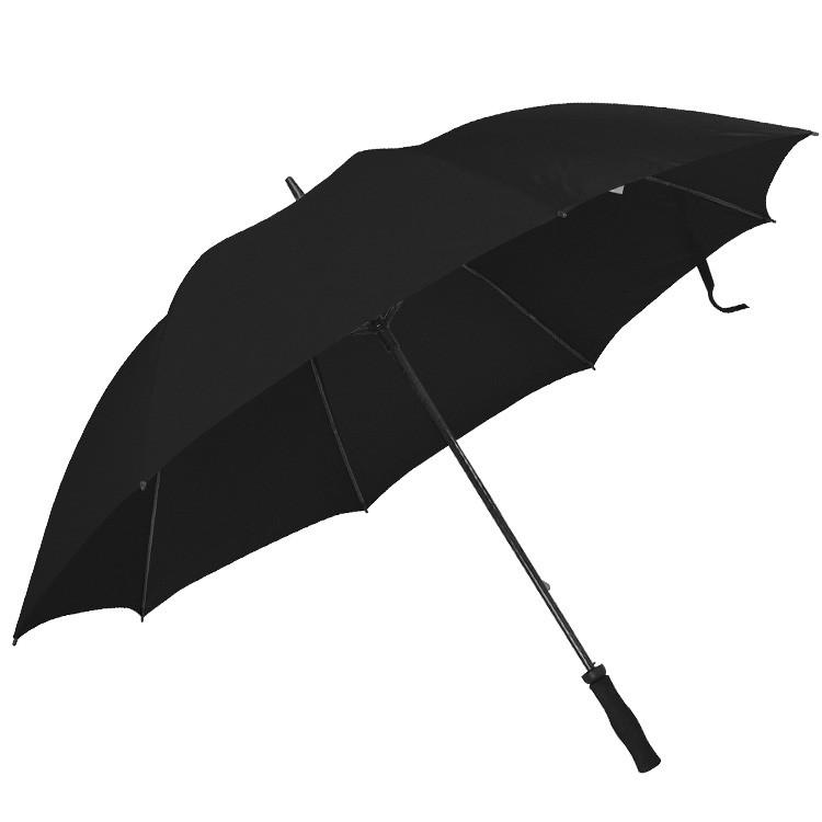 Regenschirm mit angenehmen Softgriff