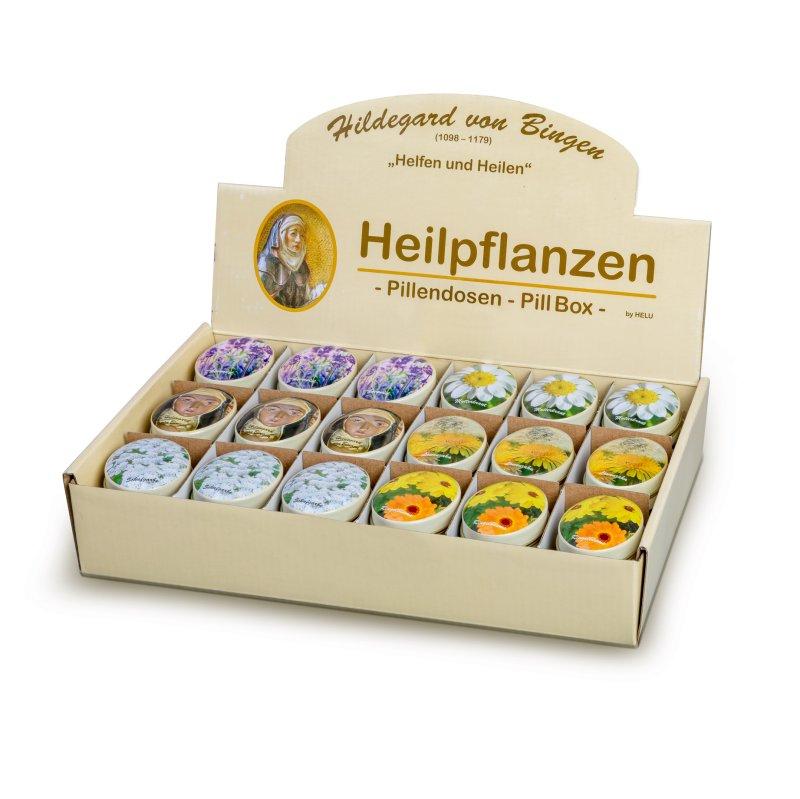 """Pillendose """"Hildegard von Bingen"""""""