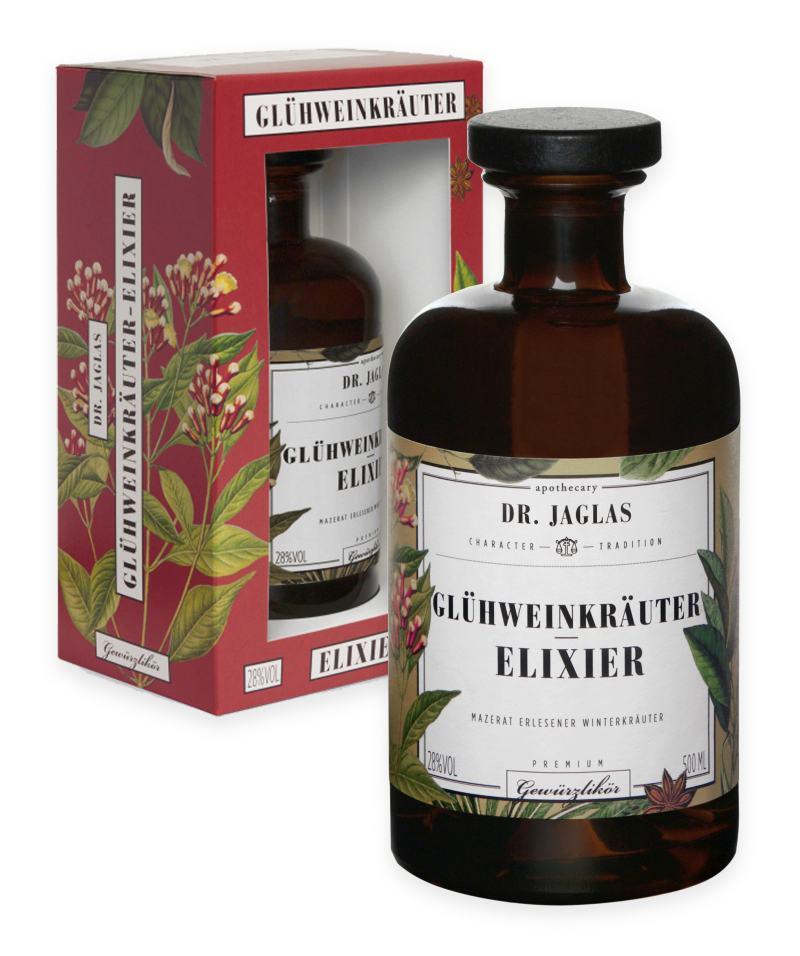 Dr. Jaglas Glühweinkräuter-Elixier, 500 ml