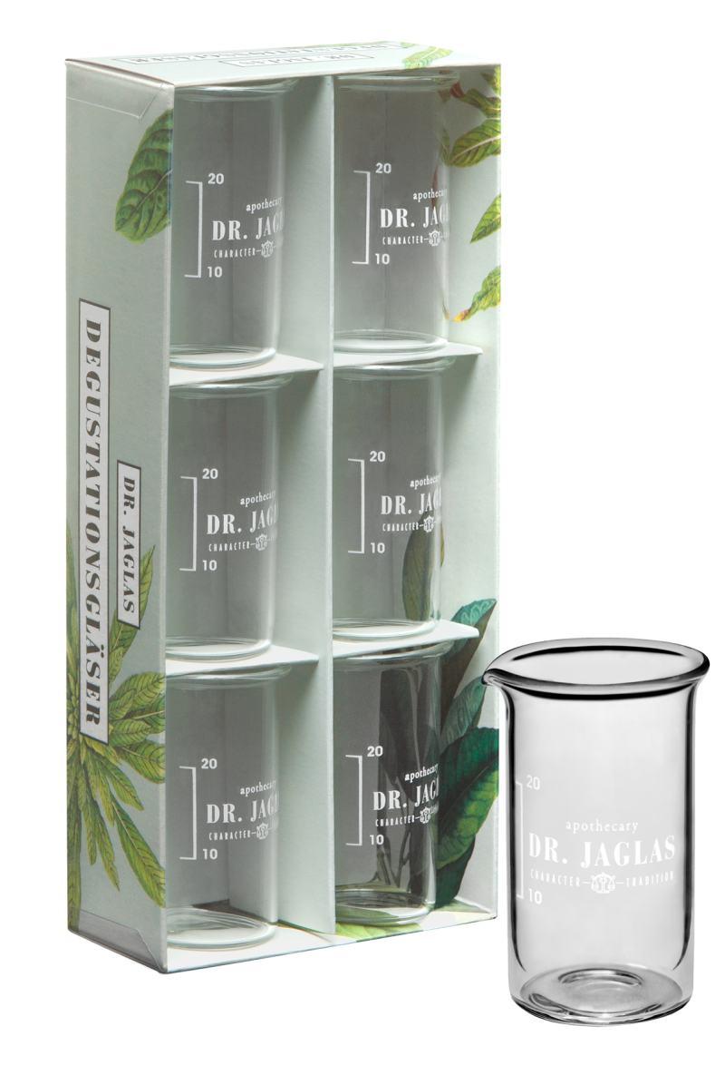 Dr. Jaglas Degustations-Gläser im 6-er Set, jeweils 25 ml