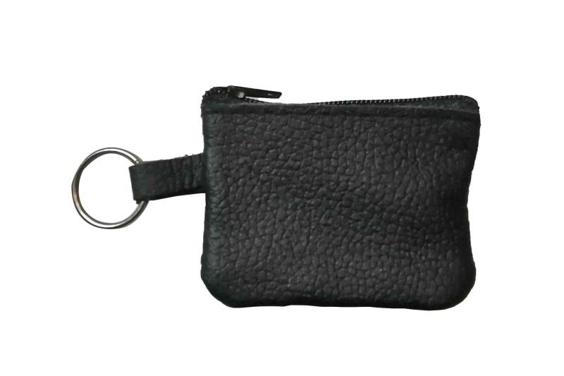 Kleine Schlüsseltasche aus Leder
