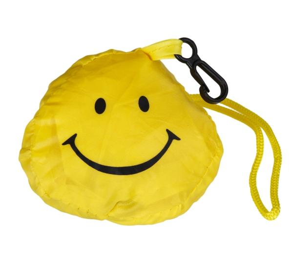 """Einkaufstasche """"Smile"""" aus Polyester"""