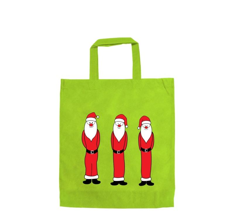 """Mittlere Motivtasche """"Santa Claus"""" 28 x 32 cm"""