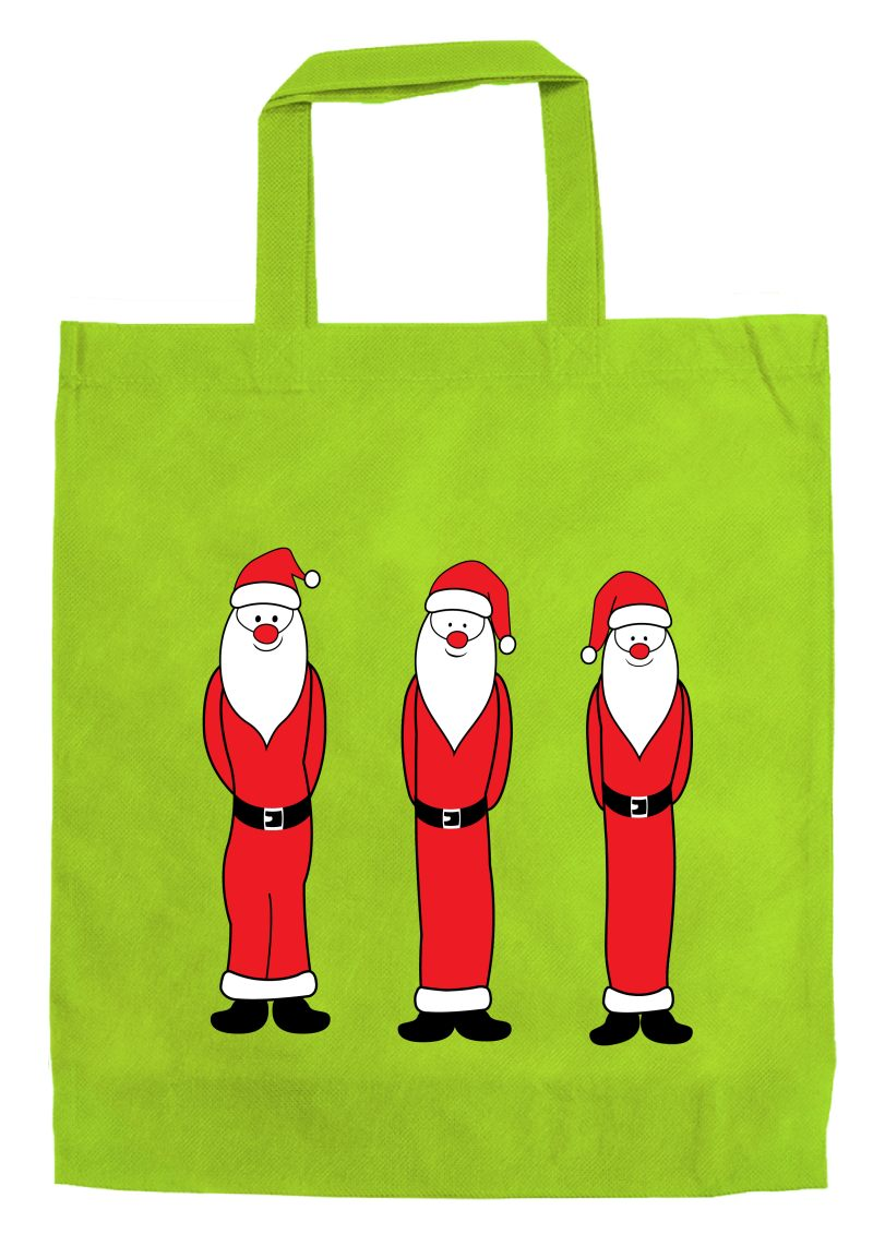 """Große Motivtasche """"Santa Claus"""" 38 x 42 cm"""
