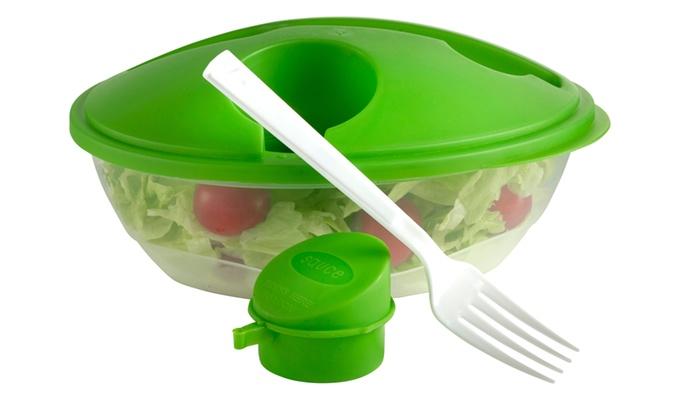 "Salatbox ""Verde"" aus Kunststoff Maße 225 x 180 x 100 mm"