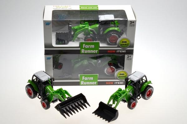 "Traktor ""Johnny"" Länge 16 cm"
