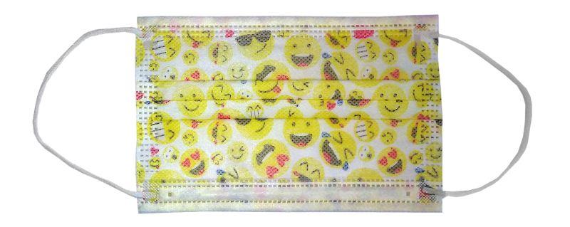 Mund- und Nasenmaske für Kinder aus Vliesstof