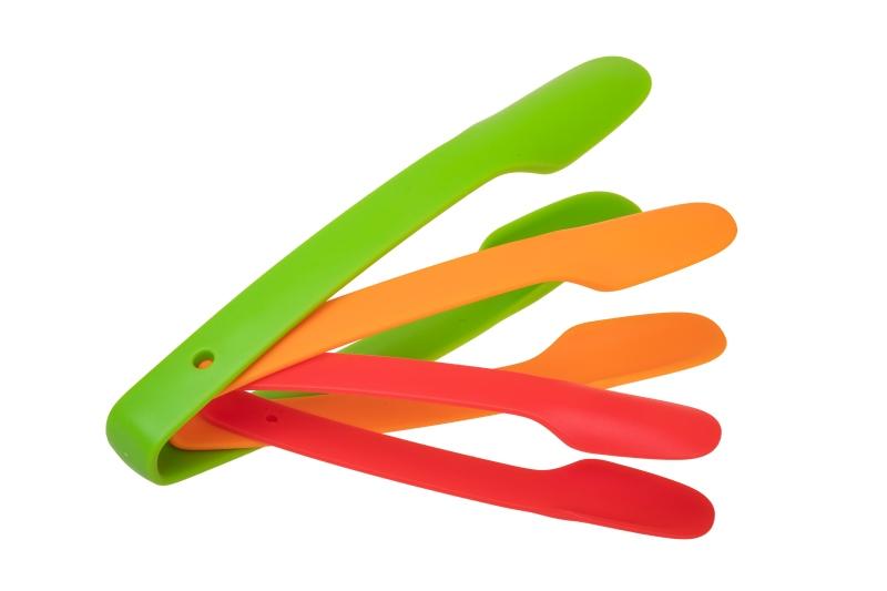 Küchenzangenset aus Kunststoff