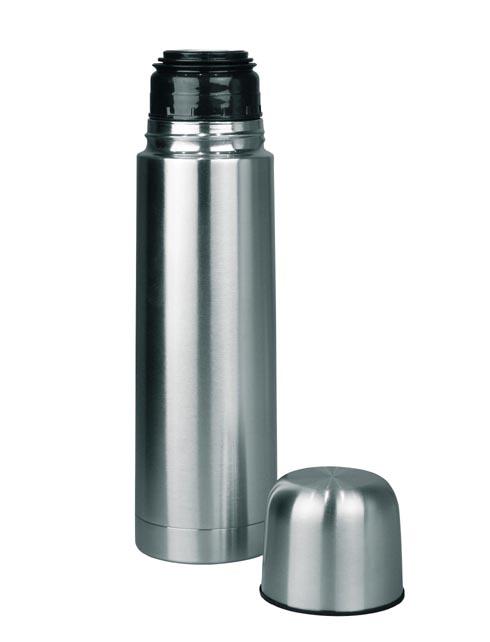 Thermoskanne aus Stahl, 1 Liter