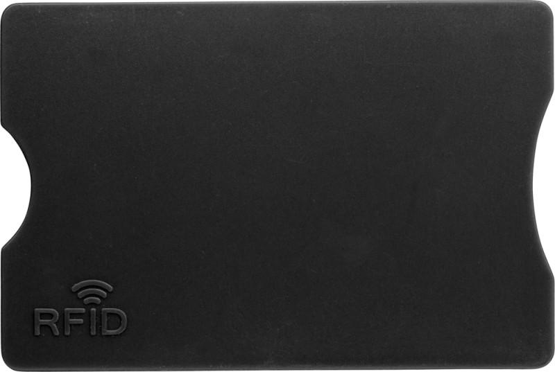 Kreditkartenhalter mit RFID-Schutz aus Kunststoff