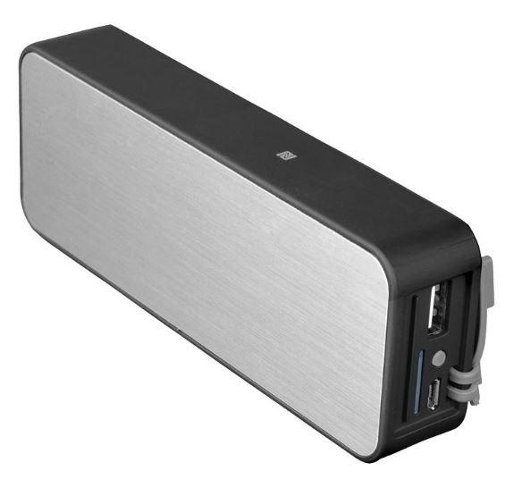 """Power Bank und Bluetooth Lautsprecher """"Zabrak"""""""