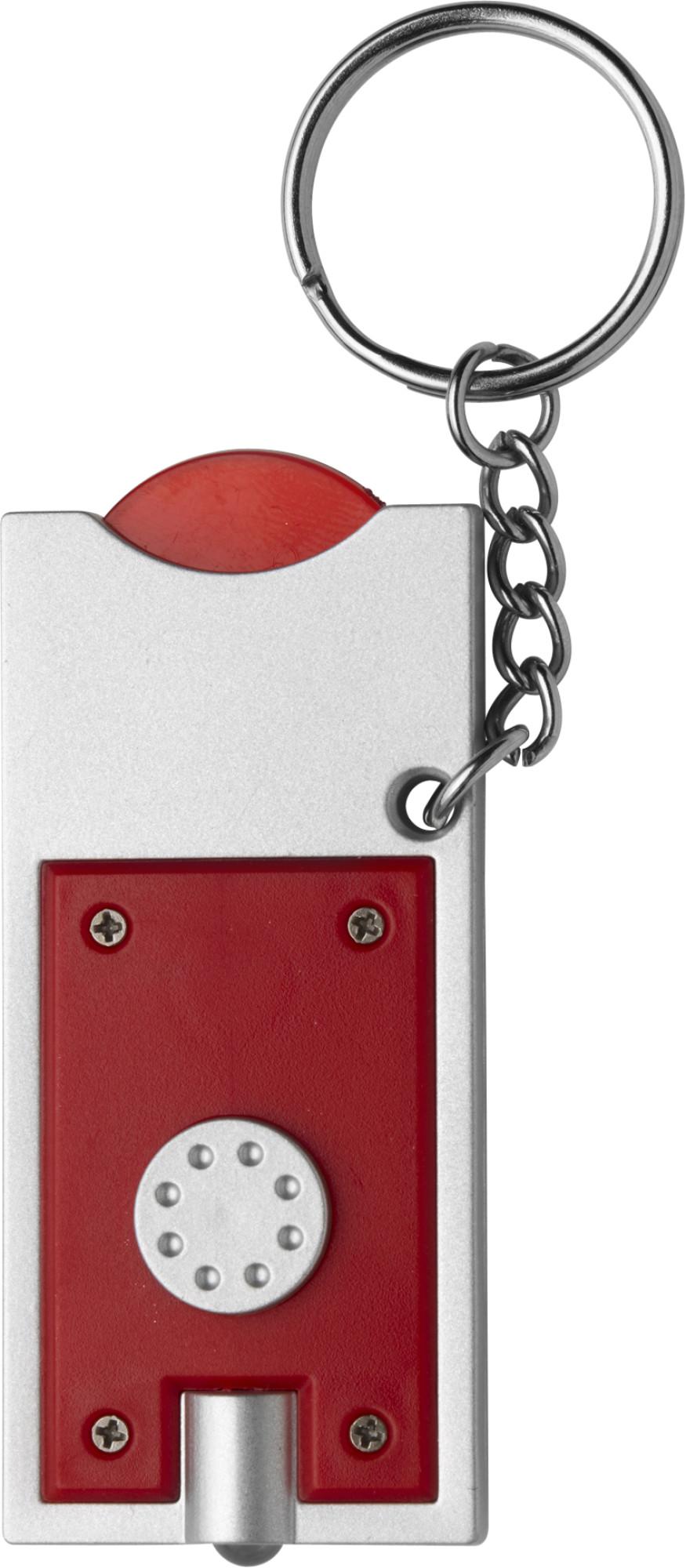 """Schlüsselanhänger """"LED und Einkaufswagenchip"""""""