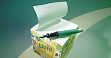 Notizquader 10 x 10 x 10 cm 4 Seiten, 1-farbig bedruckt